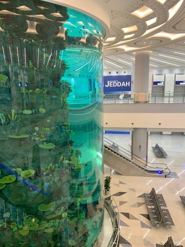 Saudi Arabien Jeddah Airport