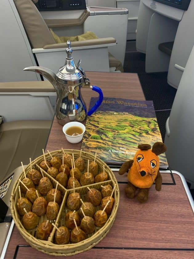 Saudia Business Class Essen