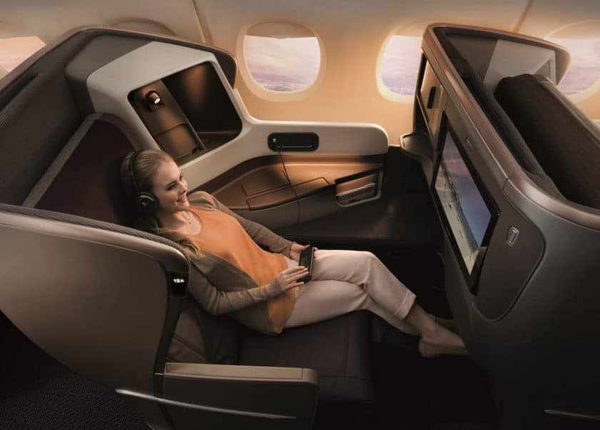 singapore airlines business a350