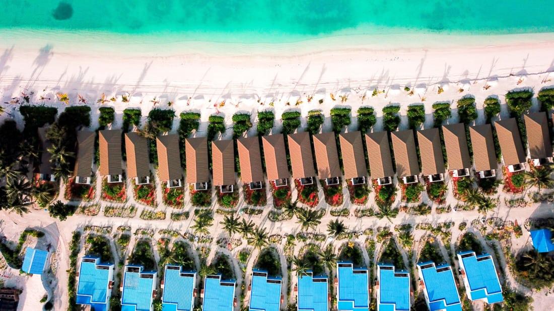 South Palm Resort von Oben