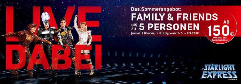 starlight express family