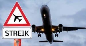 Warnstreik bei Airline
