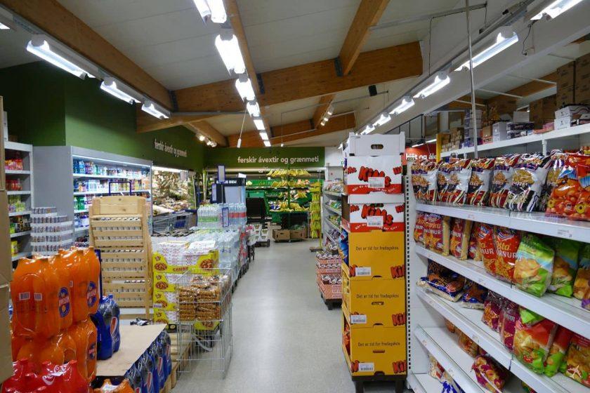 supermarkt island