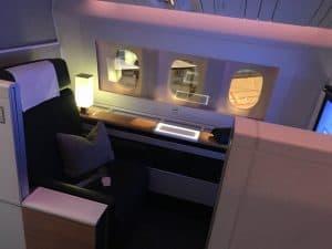 Swiss First Class Review Sitz