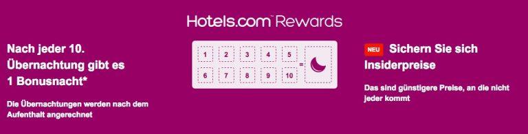 Hotels.com Rewards