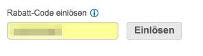 Einlösen-Button nicht klickbar bei Hotels.com
