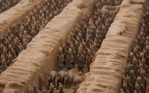 Terrakotta Armee Xi'an Xian China