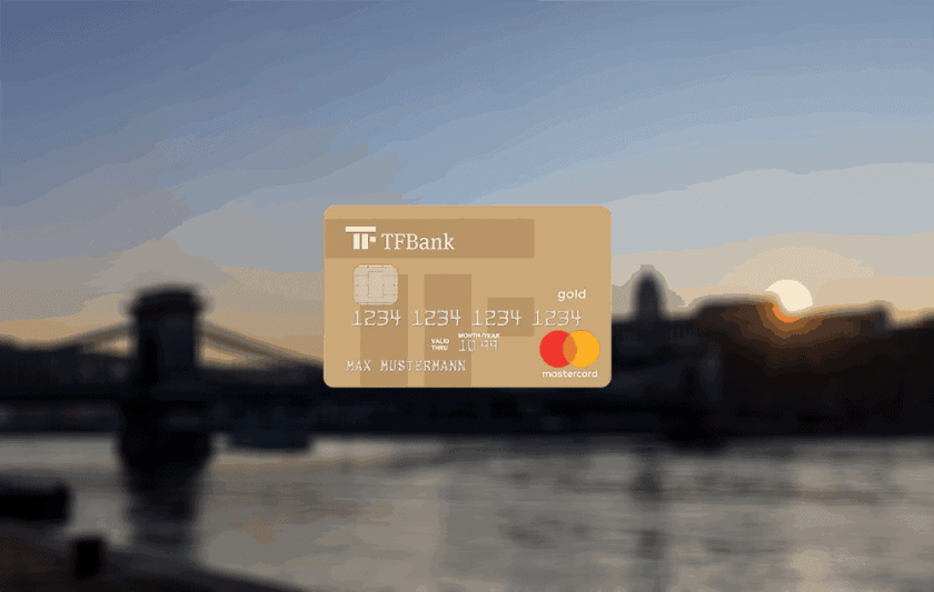 TF Bank Mastercard Gold Titelbild