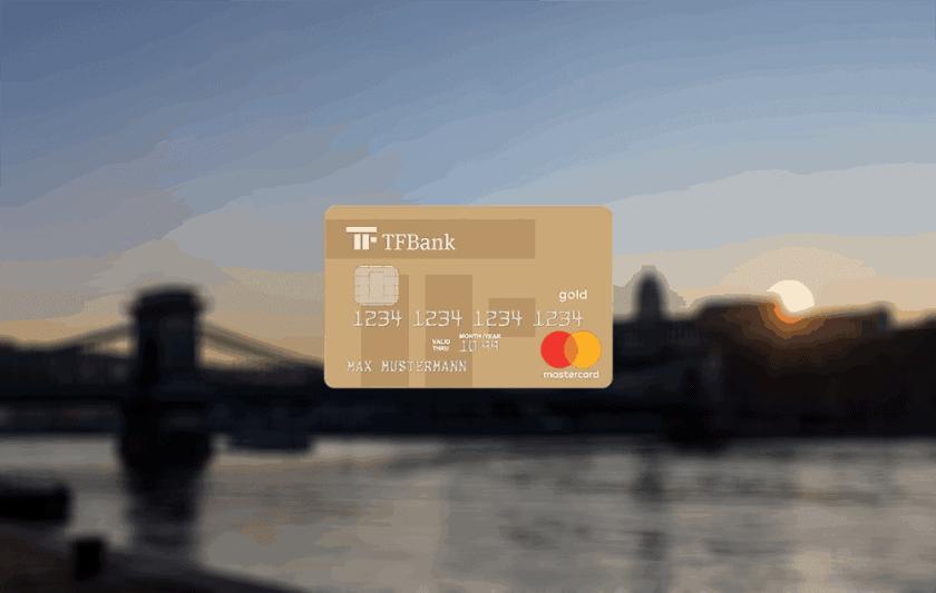 TF Bank Mastercard Gold Titelbild