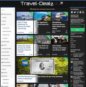 Travel Dealz Dark Mode 2