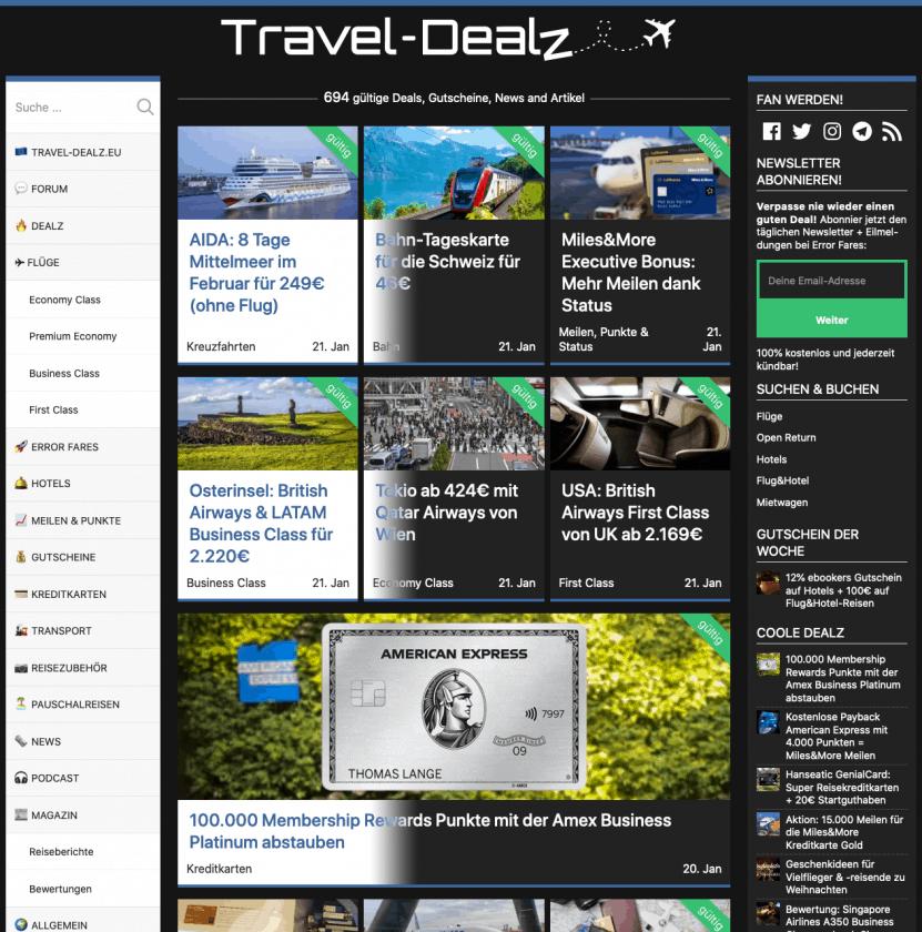 Travel Dealz Dark Mode 2
