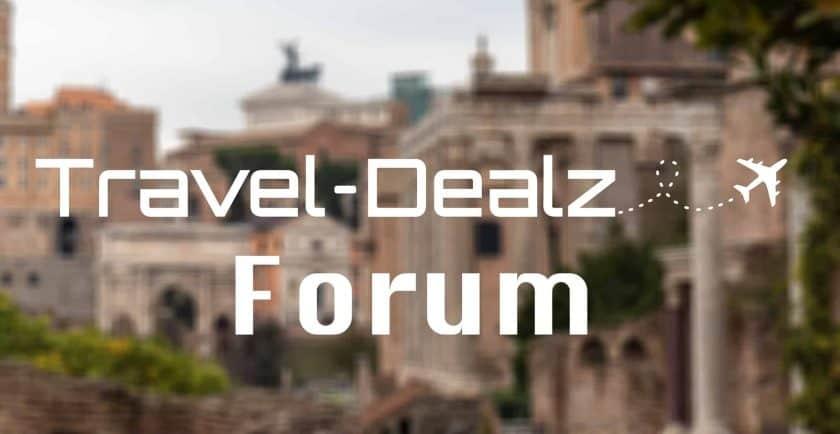 Travel Dealz Forum Titelbild