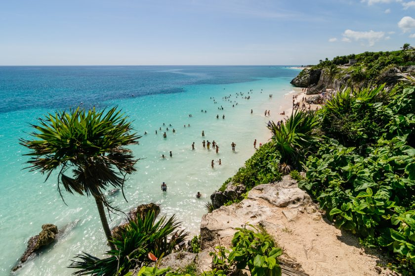 Tulum Beach, Cancun, Mexico