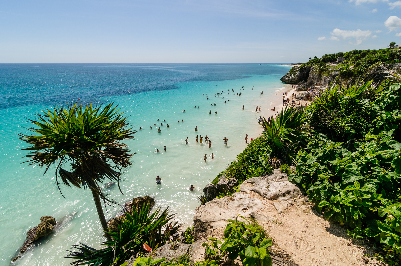 Tulum Beach, Cancun, Mexico