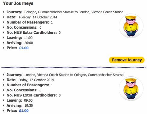 Köln - London mit Megabus für 3 Euro hin und zurück » Travel