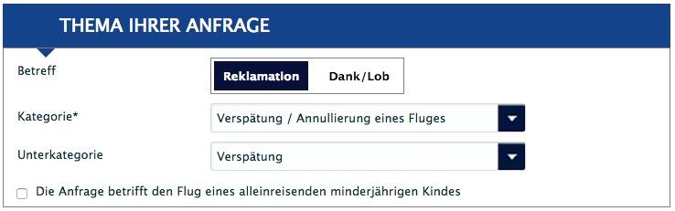 Air France Reklamation Verspätung / Annullierung