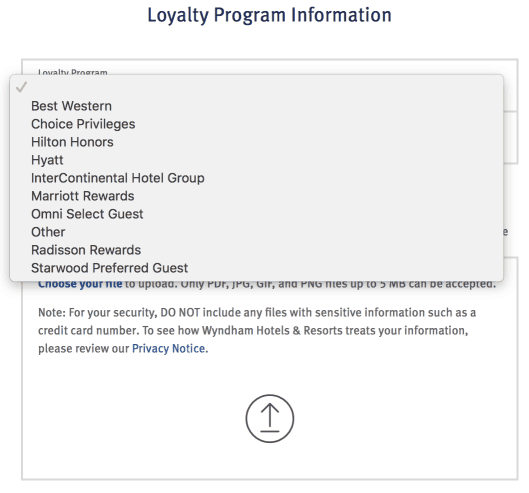 wyndham rewards status match 1 oct18