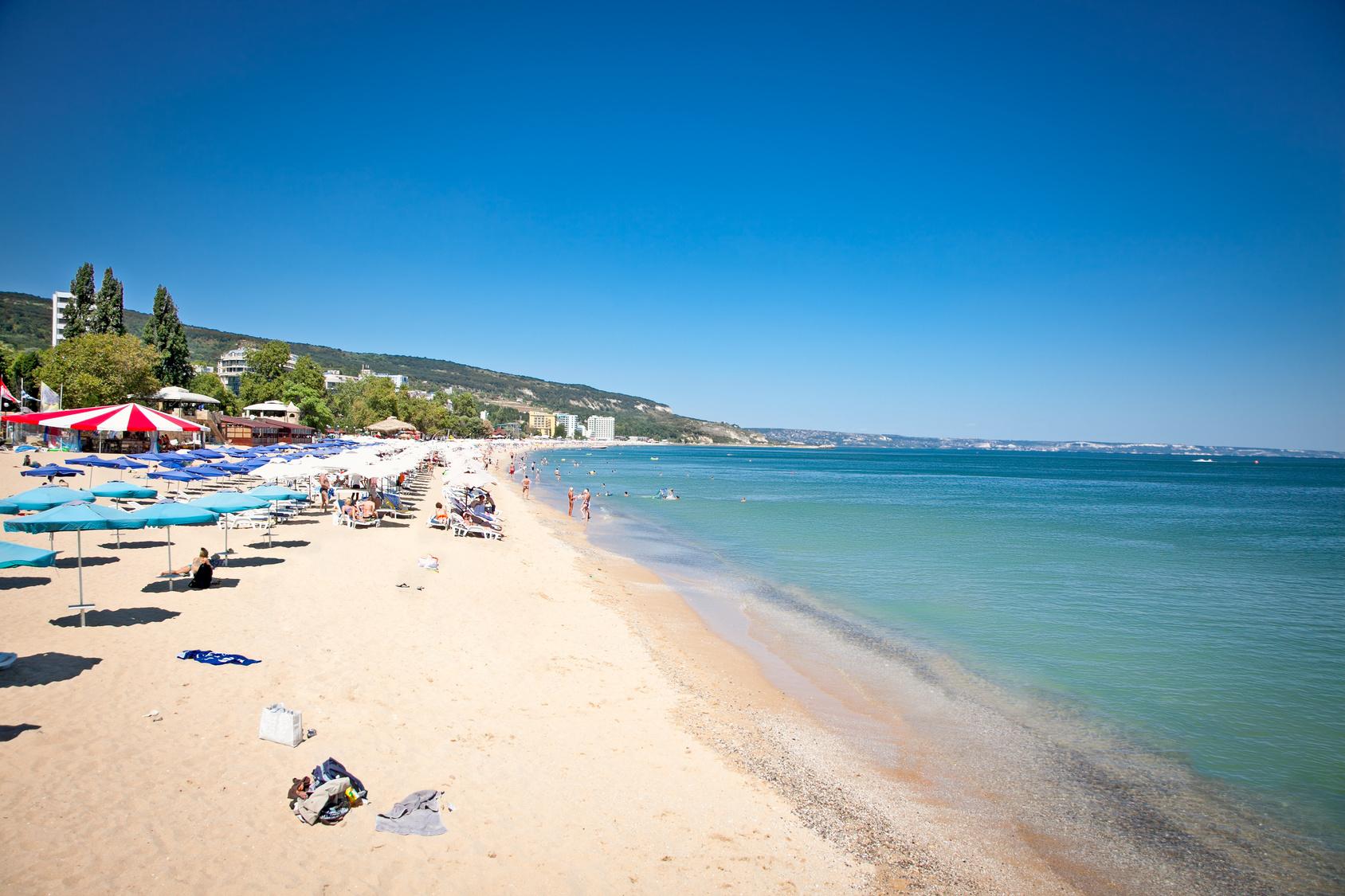 Varna Beach, Bulgarien