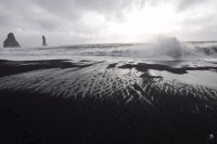 vik strand welle