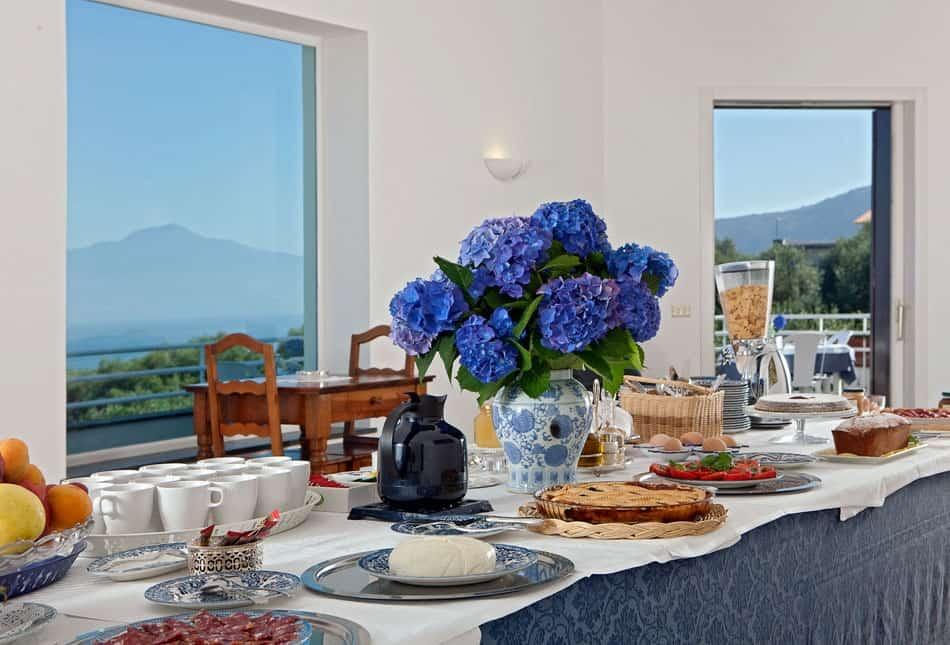 villa oriana frühstück