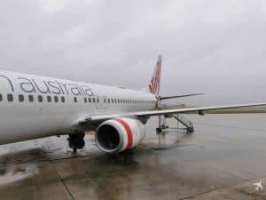 Virgin Australia Aussenansicht