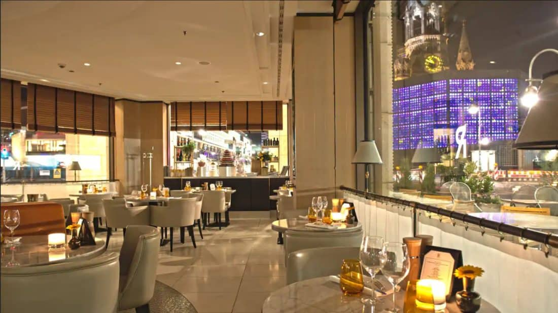 waldorf astoria berlin roca restaurant