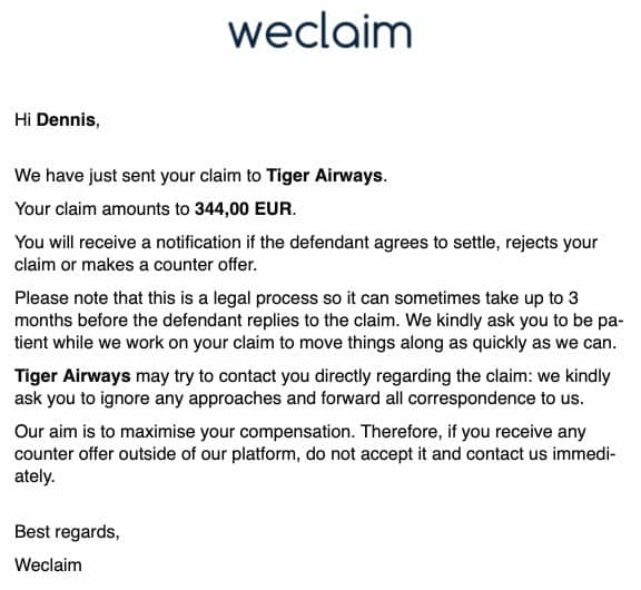 weclaim baggage claim