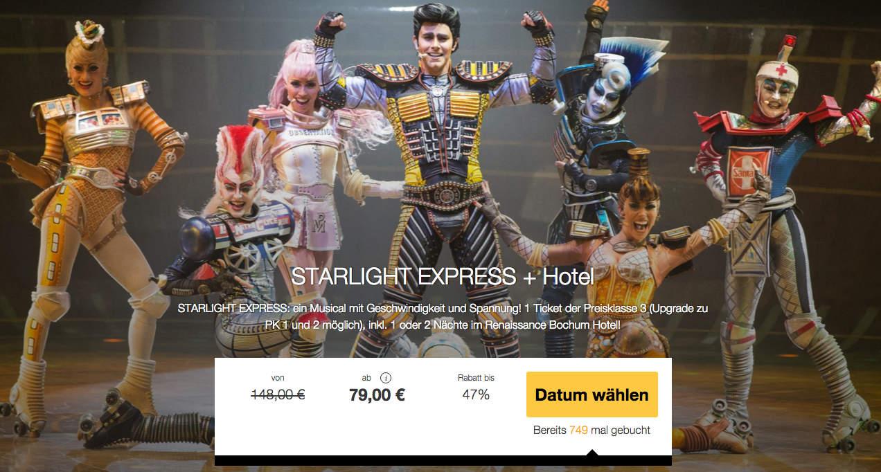 Travelbird Starlight Express + Hotel