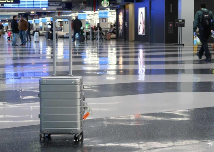 xiaomi trolley metall airport3